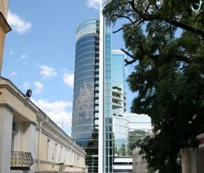 Проект бизнес центра на Таможенной площади. Одесса