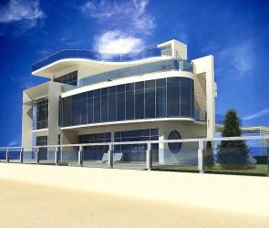 Проект дома на песке, Бугаз, Одесская область