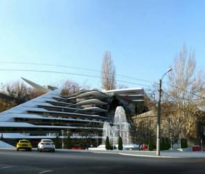 Проект концертно-выставочного комплекса Воронцовский, Военный спуск, Одесса
