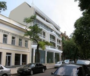 Проект бизнес центра на Александровском проспекте, Одесса