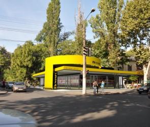 Проект цветочного павильона на пр. Шевченко, Одесса