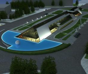 Проект торгово-развлекательного центра на пл. Независимости. Одесса