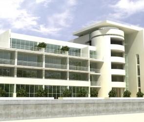 Проект гостиницы на берегу моря в с. Леонидово