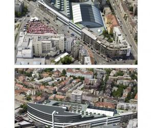 Конкурсный проект реконструкции жилого крвартала. Загреб, Хорватия