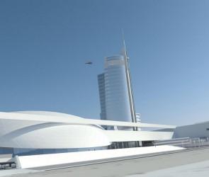 Проект торгово-развлекательного комплекса в Лузановке. Одесса