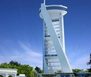 Конкурсный проект смотровой башни в парке Шевченко, Одесса