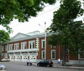 Реконструкция пожарной части на ул. Бунина. Одесса