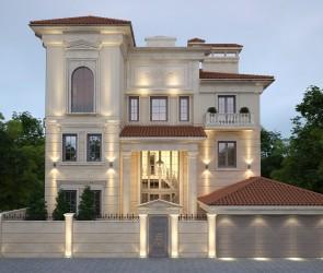 Проект частного дома в средиземноморском стиле, Одесса