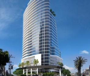 Эскизный проект общественного здания, Нетания, Израиль