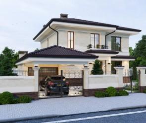 Частный дом в Современном стиле